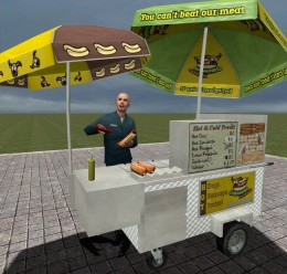 hotdog_stand_pack.zip For Garry's Mod Image 1