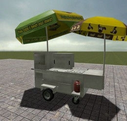 hotdog_stand_pack.zip For Garry's Mod Image 2