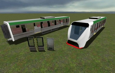 Perth Train Pack For Garry's Mod Image 1