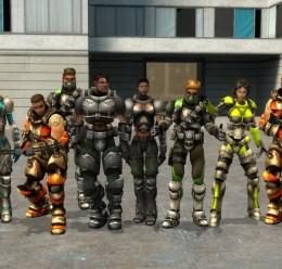 UT2004 Mercenaries Playermodel For Garry's Mod Image 1