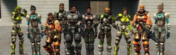 UT2004 Mercenaries Playermodel