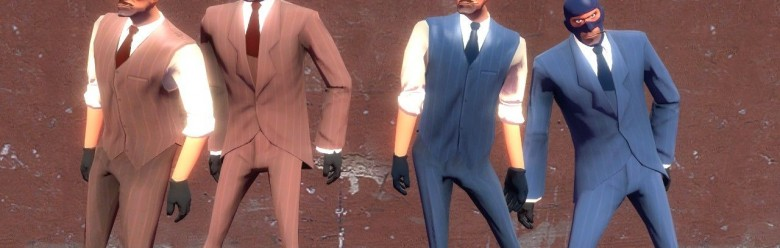 TF2 Stylish Spy Unmasked For Garry's Mod Image 1