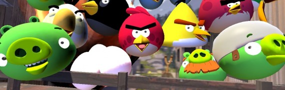 Angry Birds Model Pack