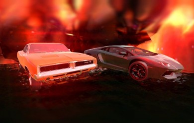 Dodge Charger & Lambo Aventado For Garry's Mod Image 1