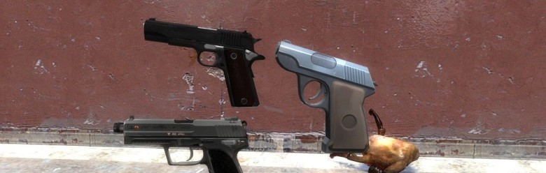 tf2_scout_1911_and_usp_pistols For Garry's Mod Image 1