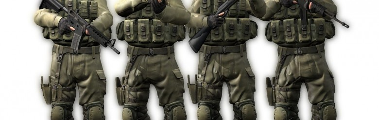CS:GO IDF with BMS Head For Garry's Mod Image 1