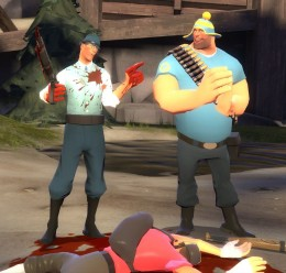 Casual Medic and Heavy.zip For Garry's Mod Image 3