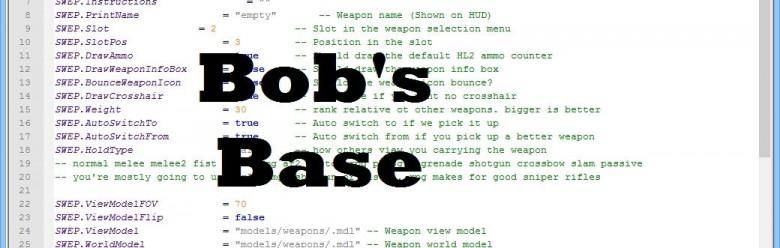 bobs_base.zip For Garry's Mod Image 1