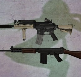 HEXED FN FAL&SBR Vltor For Garry's Mod Image 1