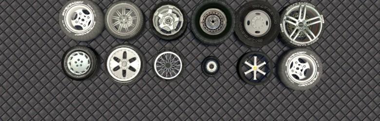 Jojobull's Wheel Pack For Garry's Mod Image 1