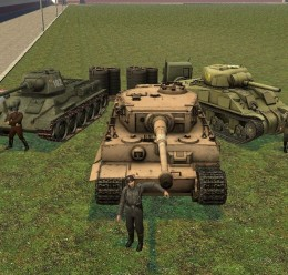 DoD:S WWII Tanks! T-34 Include For Garry's Mod Image 1