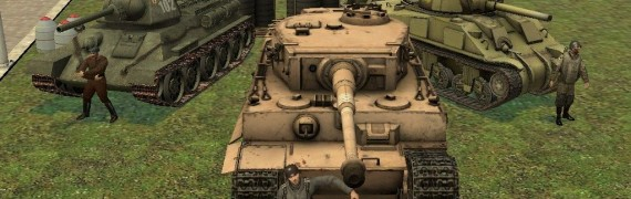 DoD:S WWII Tanks! T-34 Include