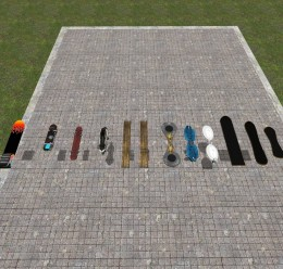 6 New Hoverboards ! For Garry's Mod Image 1