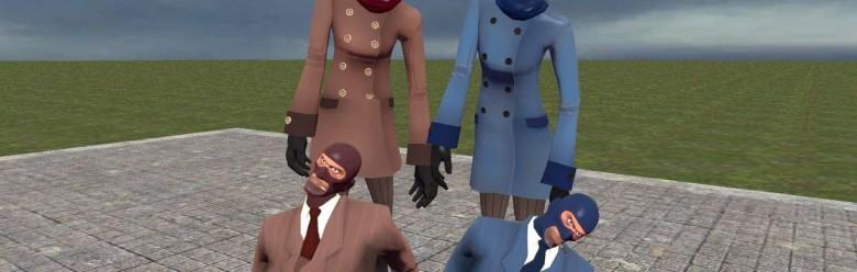 TF2 Female Spy For Garry's Mod Image 1