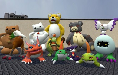 digimon_ragdoll_pack__1.zip For Garry's Mod Image 2