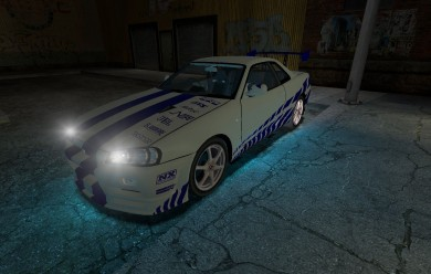 FnF Skyline Skin For Garry's Mod Image 1