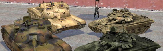 BFP4F T-90 and M1A2 Abrams
