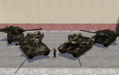 BF2 Leo 2A6 and Challenger 2 For Garry's Mod Image 2