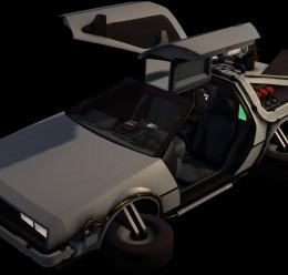 Delorean Model For Garry's Mod Image 3