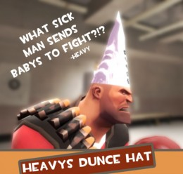 heavy's_dunce_hat_hex.zip For Garry's Mod Image 3
