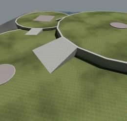 gm_flatgrass_3circles.zip For Garry's Mod Image 2