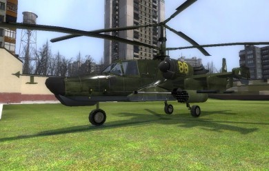 WAC Ka-50 'Black Shark' For Garry's Mod Image 1