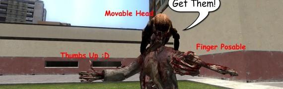Half-Dead's HL2 Zombie