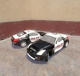350z_police_skin.zip For Garry's Mod Image 1