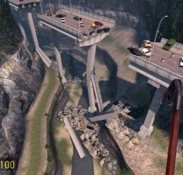 gm_outland_bridge_v2 For Garry's Mod Image 3