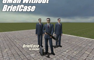 GMan no Briefcase MODEL For Garry's Mod Image 2