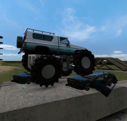 old_school_monster_truck.zip For Garry's Mod Image 2