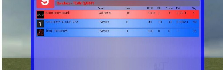gmod_sui_scoreboard_v2.1.zip For Garry's Mod Image 1
