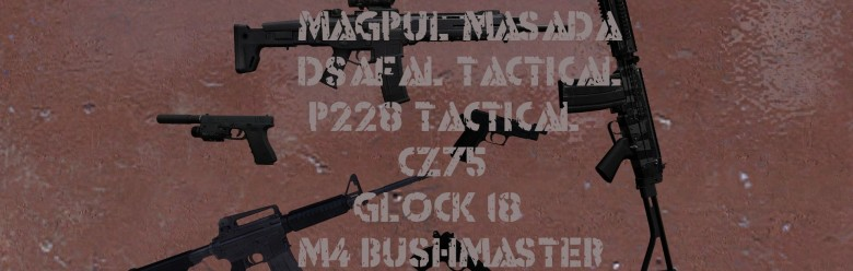 Tactical Weapons Pack For Garry's Mod Image 1