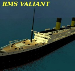 (SINKABLE SHIP) RMS Valiant For Garry's Mod Image 1