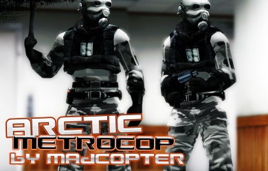 Arctic Metropolice Skin For Garry's Mod Image 1