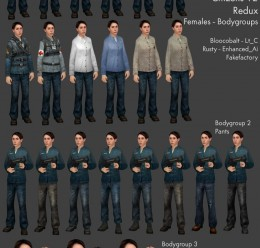 Enhanced Citizens Redux For Garry's Mod Image 3