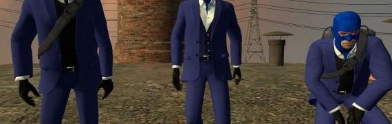 Realistic Spy Skin