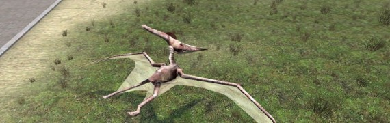 Pteranodon (it's a flying dino