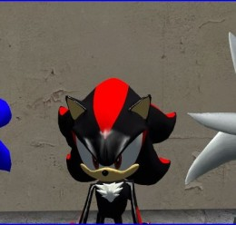 sonic_shadow_silver.zip For Garry's Mod Image 1