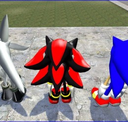 sonic_shadow_silver.zip For Garry's Mod Image 2