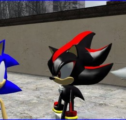 sonic_shadow_silver.zip For Garry's Mod Image 3
