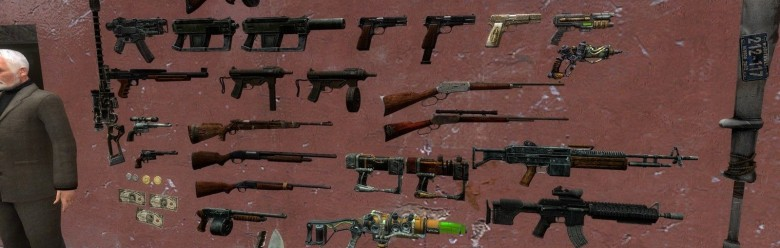 Fallout Weapon Models For Garry's Mod Image 1