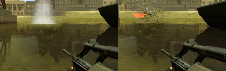 New water impact effect For Garry's Mod Image 1