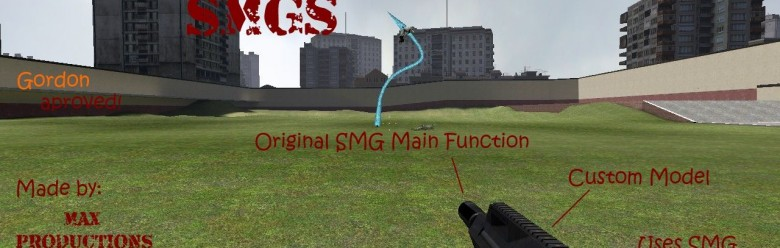 customized_smgs.zip For Garry's Mod Image 1