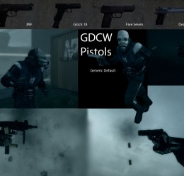 GDCW Pistols For Garry's Mod Image 1