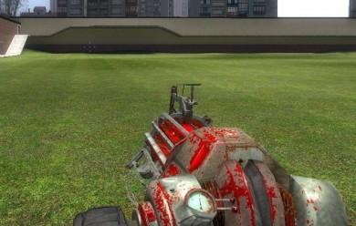 Bloody Gravity Gun Skin For Garry's Mod Image 1