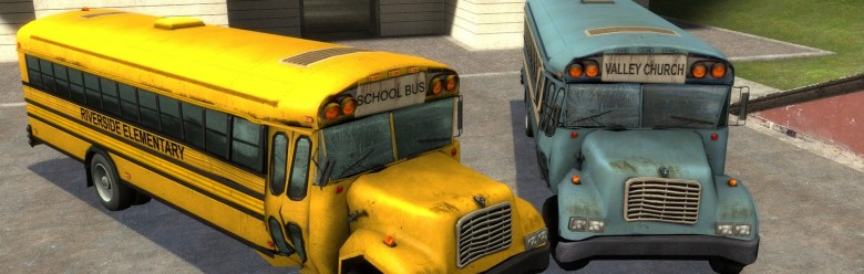 l4d_riverside_school_bus_hexed For Garry's Mod Image 1