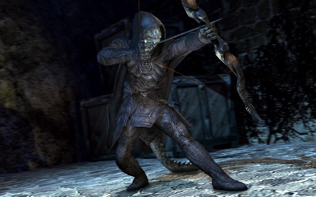 Skyrim Argonians and Weapons | garrysmods org