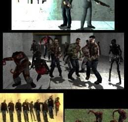 New Zombie Npc's 1.2 For Garry's Mod Image 3