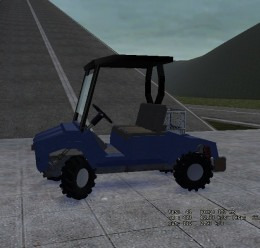 Butler's Golf Cart.zip For Garry's Mod Image 3